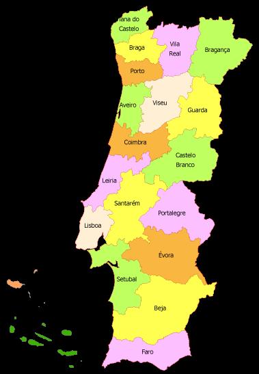 mapa códigos postais portugal Mapa De Portugal Codigos Postais   thujamassages mapa códigos postais portugal